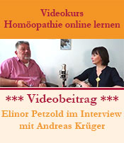 Homöopathie online lernen mit Andreas Krüger
